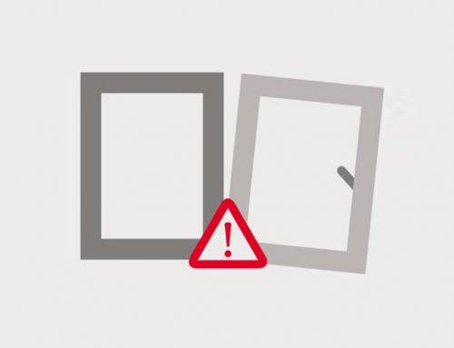 رعایت موارد ایمنی در و پنجره یو پی وی سی